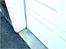 garage door side weather stripping commercial door weatherstripping commercial