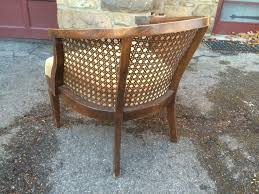 adorable rattan backed chairs at vintage french cane back round upholstered side chair fabric arm