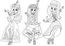 Small Picture Monster High Coloring Pages Coloring pages for Girls Cool