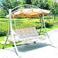 outdoor swing seat 3 cushion with canopy garden cozy promotional swings cover c outside covers replacement outdoor swing seat