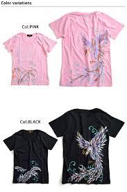 hand painted las short sleeve t shirt m phoenix zen women s japanese design japanese handwriting 05p01oct16