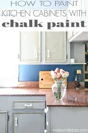 painting melamine kitchen cupboards with chalk paint how to a sign