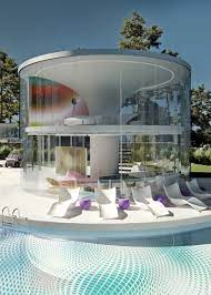 karim rashid's dream house is a futuristic yet economical house in the  countryside