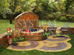 Backyard Plans Designs Gorgeous Wall Water Features Outdoor Backyard Garden Wall Water Features