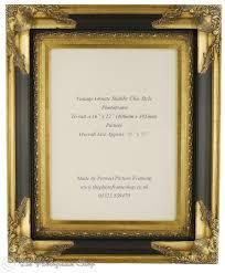 wide profile 4 100mm antique gold black shabby chic ornate swept