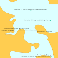 Foulweather Bluff Hood Canal Washington Current Predictions