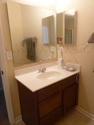 Bronze Mirror Bathroom Apartment Bathroom Ideas