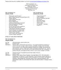 Rv Technician Resume Integrator Cover Letter Resume Sample Land Surveyor Breakupus Scenic 1