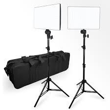 Photo Studio Lighting Kit Ebay Details About Lusana Studio 2 Pack Photography Led Photo Video Light Panel Lighting Kit