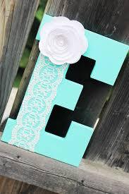 letter e baby boy nursery decor aqua name with wooden prepare 2