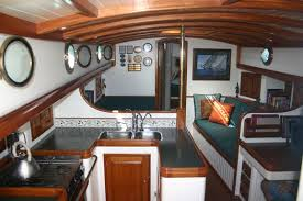 Boat Interior Design Ideas i like the lack of clutter on this onemakes it seem clean and fresh