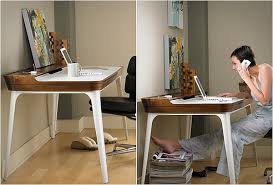 office desk for home. Modern Minimalist Home Office Desk Amalgamates Ergonomic For