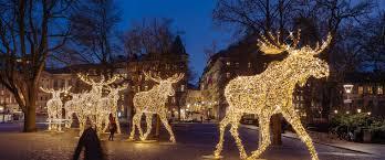 Eagle Point Park Christmas Lights Festive Christmas Lighting For Public Spaces Mk
