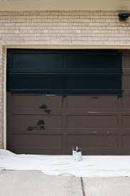 the steps for painting a garage door