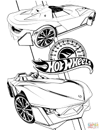 Small Picture Hot Wheels coloring page Free Printable Coloring Pages