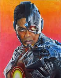 Our cyborg movie fan poster, based on the cover of the tales of the new teen titans issue #1 comic. Ray Fisher As Cyborg By Junkdrawings On Deviantart