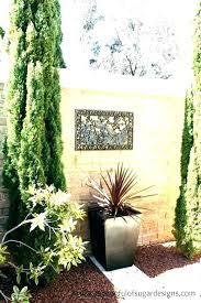 garden wall artwork perfect outdoor metal art for walls image collections w canada iron ll extra outdoor metal bollard pathway light artwork
