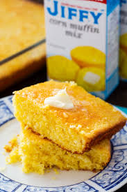 Hot water cornbread with 2 ingredients. The Best Jiffy Cornbread Spicy Southern Kitchen