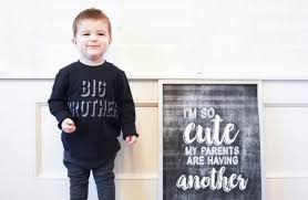 Pregnancy Announcement For A Second Baby Covet By Tricia