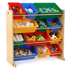 kids toy storage furniture. Tot Tutors Kids Toy Storage Organizer With 12 Bins - Espresso | Hayneedle Furniture D