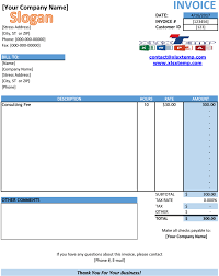 Service Invoice Template Excel Free Download Service Invoice Template Excel PDF 20