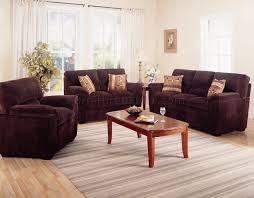 dark living room furniture. Dark Chocolate Corduroy Fabric Modern Living Room Sofa W/Options Furniture