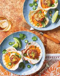 Red Curry Scallops with Lemon Grass Recipe
