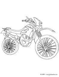 Coloriages Coloriage Moto Cross Imprimer Fr Hellokids Com