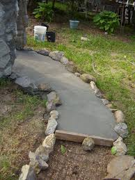 Concrete Path Designs Pin By Sharon Leavy On Stepping Stones Backyard