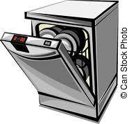 freezer clipart black and white. dishwasher freezer clipart black and white e