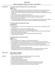 Specialist Payment Resume Samples Velvet Jobs