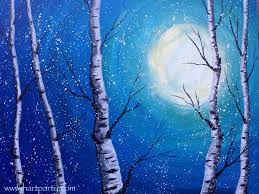winter painting ideas best 25 winter painting ideas on wine and canvas