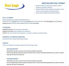 Agenda For Meetings Format Free Meeting Minutes Templates Instructions Smartsheet