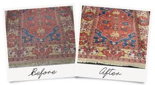 area rug cleaning before and after amazing results
