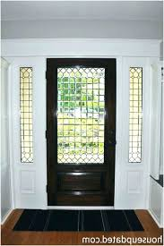 stained glass entry doors front door leaded glass a a guide on leaded glass front doors