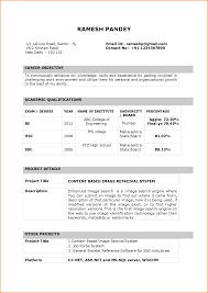 Gallery Of 9 Fresher Teacher Resume Format In Word Invoice Resume
