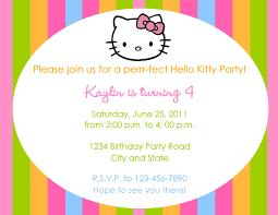 th birthday ideas birthday invitation templates text hello kitty invitation birthday party birthday party invitation