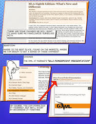 mla formatting composition  powerpoint mla formating owl at purdue