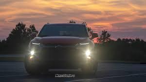 Chevy Blazer Fog Lights At Night New Chevy Blazer Interior And Exterior Lighting Overview