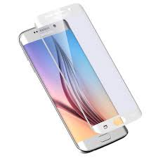 samsung galaxy s6 edge white. tipx tempered glass protector for samsung galaxy s6 edge (white) white
