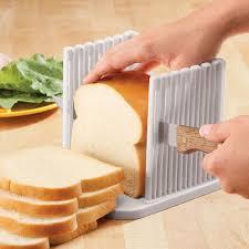 Bread Slicer Foldable And Adjustable Bread Toast Slicer Bagel Slicer
