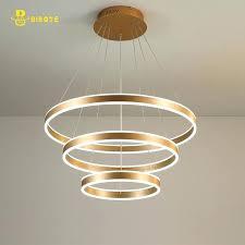 modern chandelier luxury modern chandelier led circle ring chandelier light for living room acrylic re chandelier