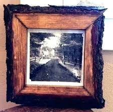 rustic wooden frame 16x20 reclaimed wood frames for canvas paint