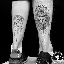 фото тату львов
