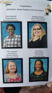 "Dr. Diana Greene on Twitter: ""Proud of #TeamDuval School-Related Employee  of the Year, Ms. Della Daugherty of Thomas Jefferson Elem. announced last  night and all of the wonderful, hardworking nominees @DuvalSchools.  Congratulations! #"