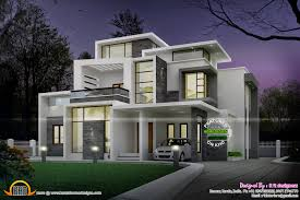 Small Picture Grand contemporary home design Kerala home design and floor