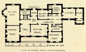 14 the devoted classicist eyford park englands favorite house 18th century home floor plans splendid