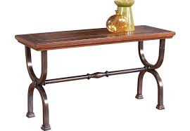 rooms to go sofa table popular sean brown tables dark wood pertaining 3