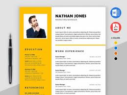 2018] Free Resume Templates Ms Word Pdf Download In 1 Minute!