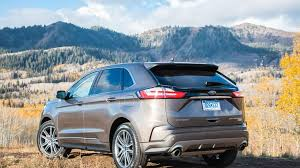 2019 Ford Edge Color Chart 2019 Ford Edge First Drive Review A Baby Step Improvement